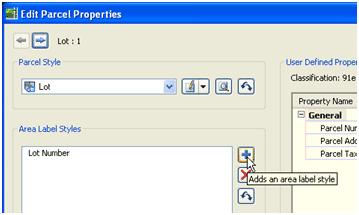 Composing Parcel Label Styles in Civil 3D 2008 082607 0128 composingpa7