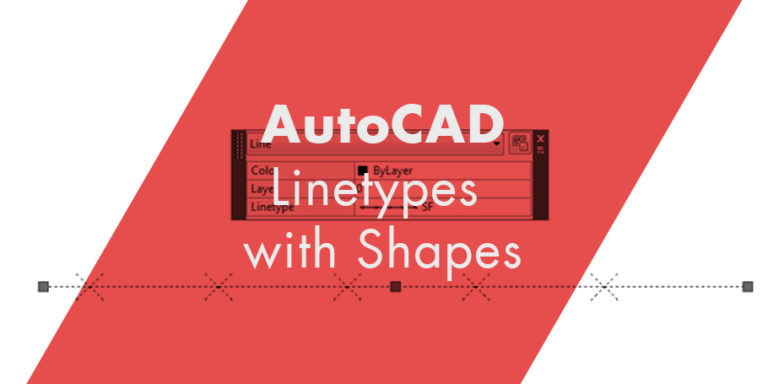 Complex Linetypes with Shapes the Super Simple Way AutoCAD Linetypes with Shapes