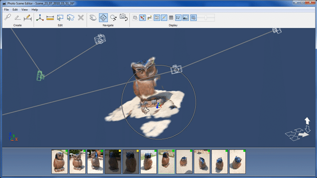 Modeling Photographs in 3D with Project Photofly image4
