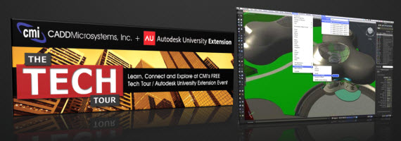 Upcoming Events with The CAD Geek 2011 02 TechTour