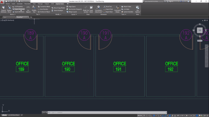 Updating AutoCAD Block Attributes using Microsoft Excel Excel Attribute