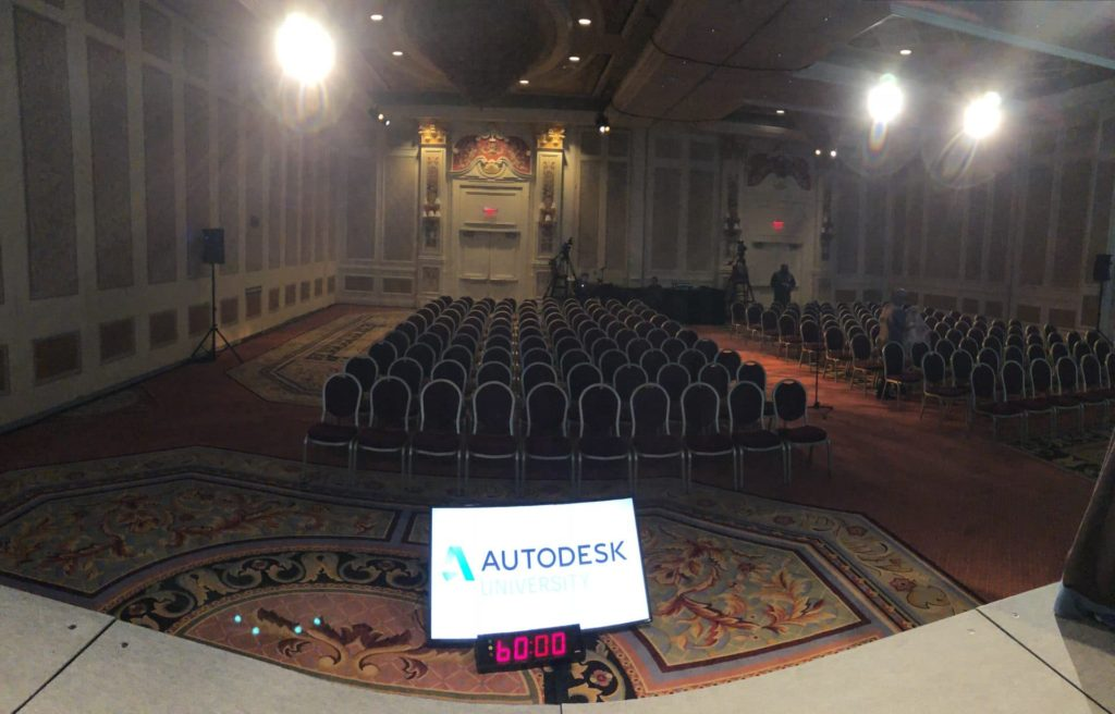 The Top-Rated Sessions of Autodesk University 2017 autodesk university stage