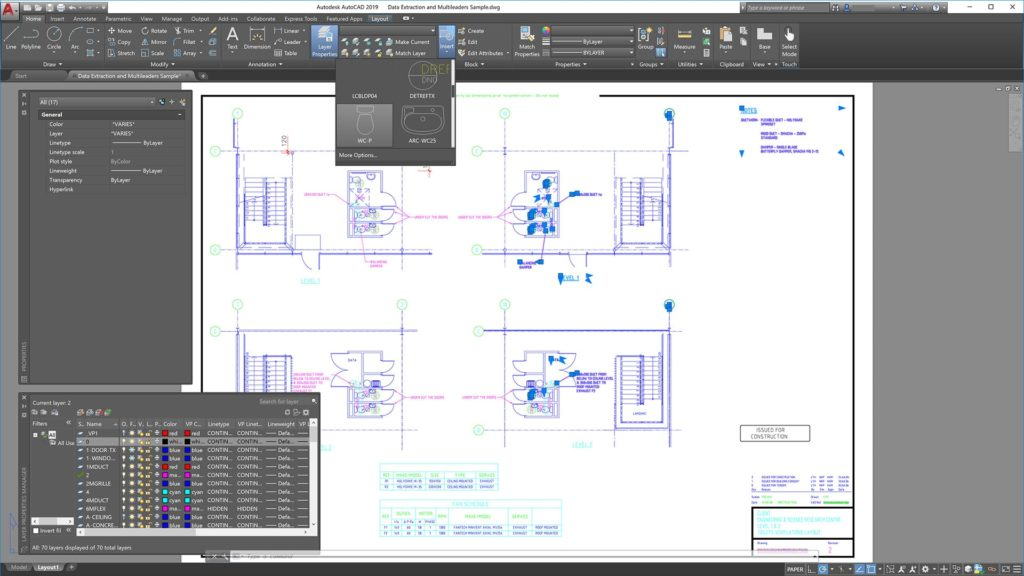 Updated AutoCAD 2019 Interface
