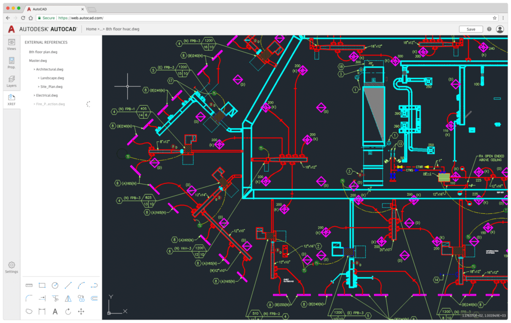 A First Look at What's New in AutoCAD 2019 AutoCAD Web External References