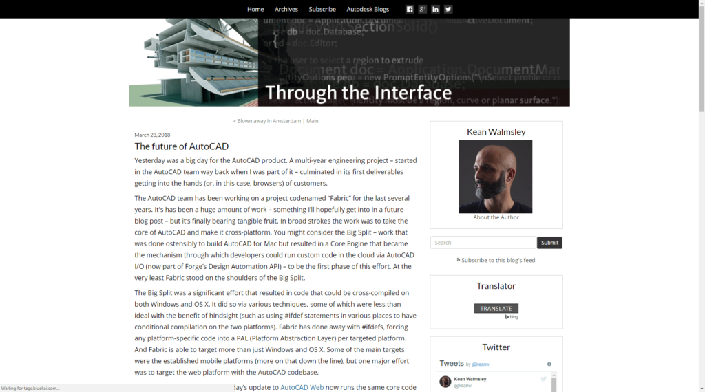 What People are Saying About AutoCAD 2019 Through the Interface