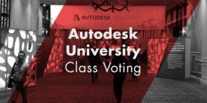Home Autodesk University Class Voting