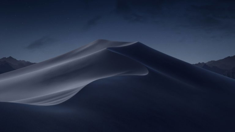 macOS Mojave Support for AutoCAD 2018 Introduced macOS mojave night desert