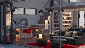 Home autocad 2020 house