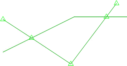 Insert Points At Crossing Locations inside Civil 3D 2021.1