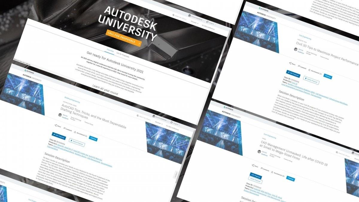 Autodesk University 2021 Community Voting Now Open au 2021 community voting hero
